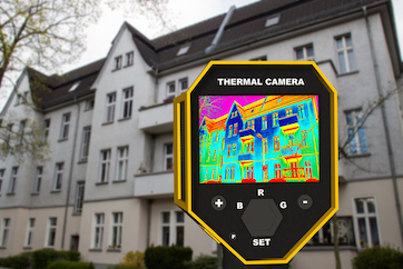 infrared thermal imager show