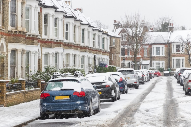 Allied Claims - Loss Assessors London under snow